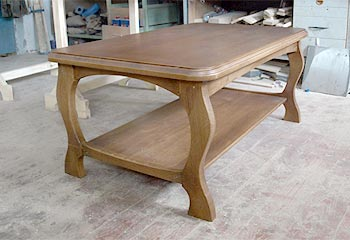 Manufacturing furniture for order from solid wood