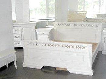 "Bed ""Classic"", white"