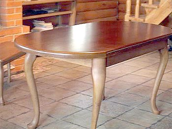 Table, oak solid wood